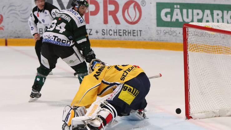 Es war knapp - aber am Ende gewann der Langenthaler das Penalty-Duell.