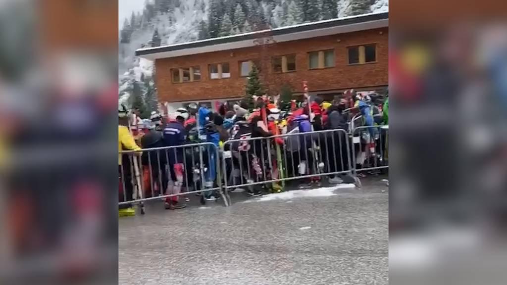 Tirol: Dichtgedrängte Schneesportler erhitzen die Gemüter
