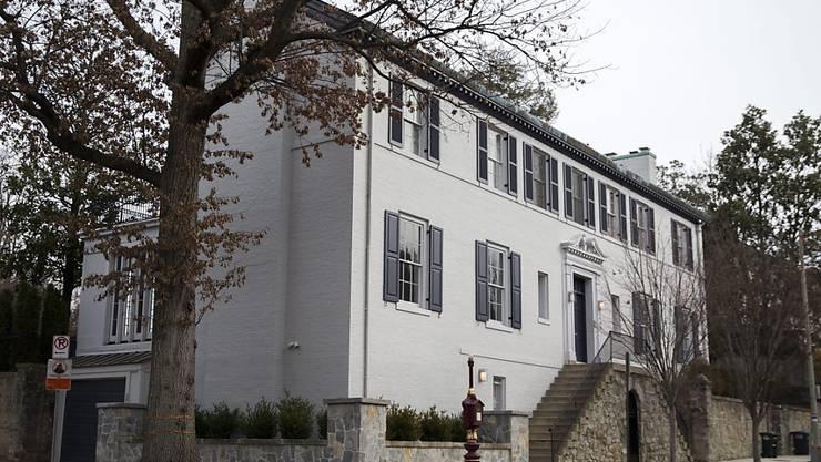 In dieses Anwesen in Washington soll Donald Trumps Tochter Ivanka und ihre Familie demnächst ziehen.