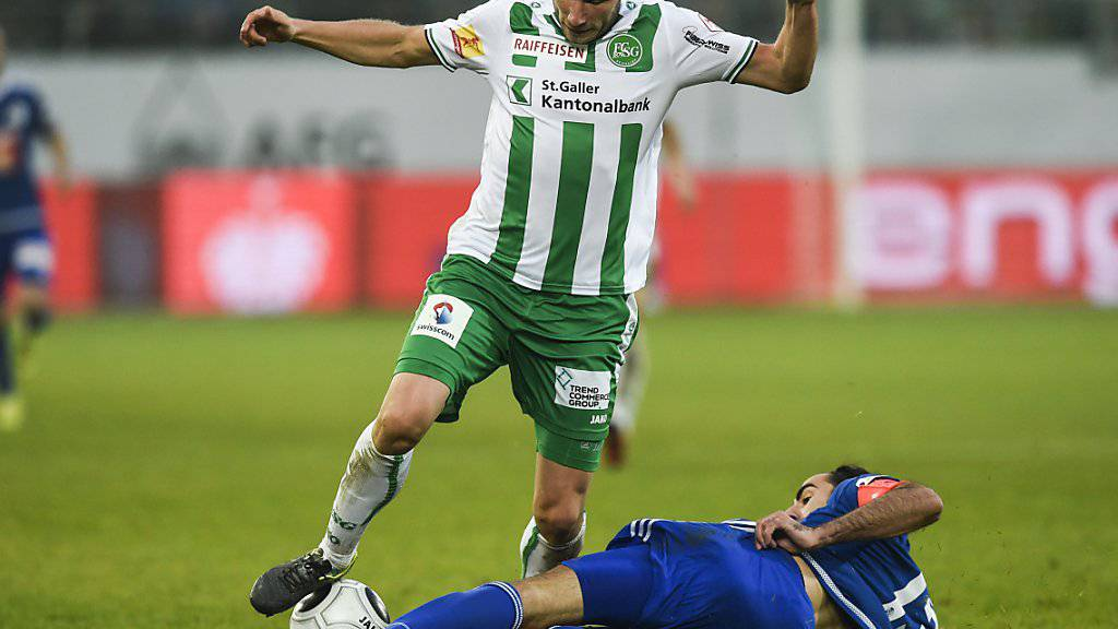 Dzengis Cavusevic (im Trikot des FC St.Gallen) versucht sein Glück in Australien.