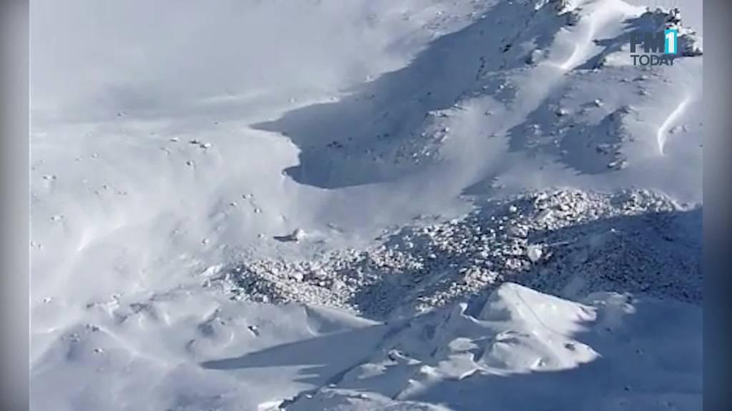 Grösserer Felssturz legt Pizolgletscher frei