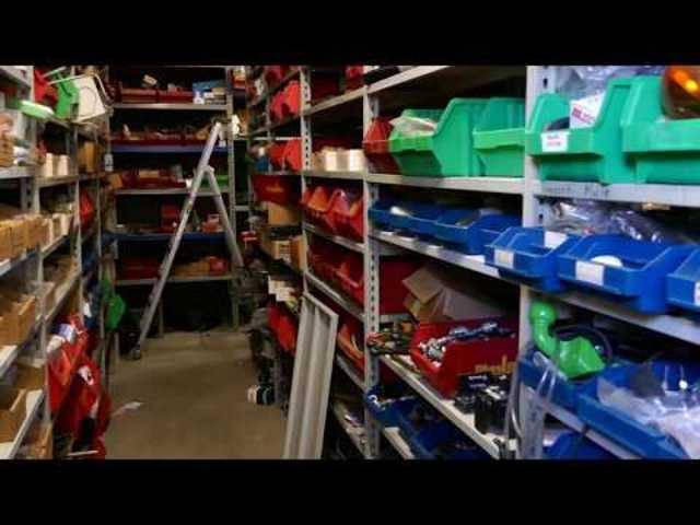 Liquidation Damann AG, Magden: ein Blick ins Lager