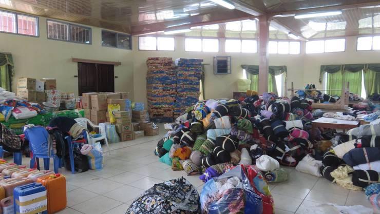 Die Presbyterianische Kirche unterstützt die Geflüchteten wo sie kann