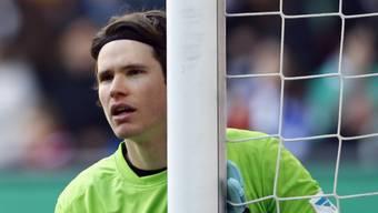 Augsburg und der Schweizer Goalie Marwin Hitz bangten um den Sieg