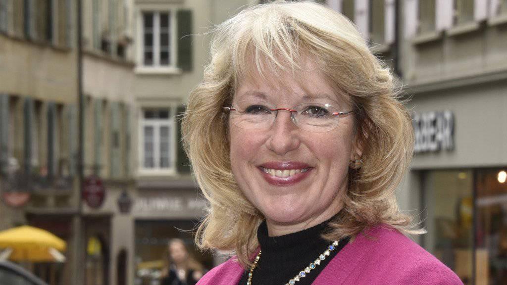 Will Bundesrätin werden: Die Waadtländer Staatsrätin Jacqueline de Quattro (Archivbild).