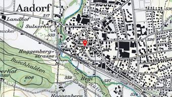 Mitten im Dorf: In Aadorf stand am Mittwoch ein Restaurant in Vollbrand.