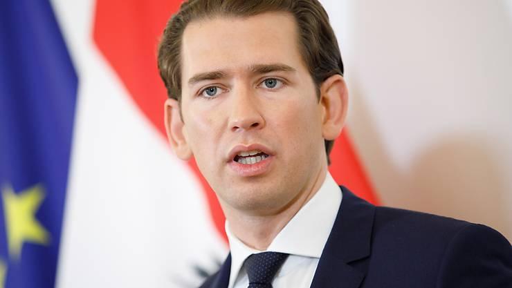 Kanzler Kurz lässt die Koalition mit der FPÖ platzen.