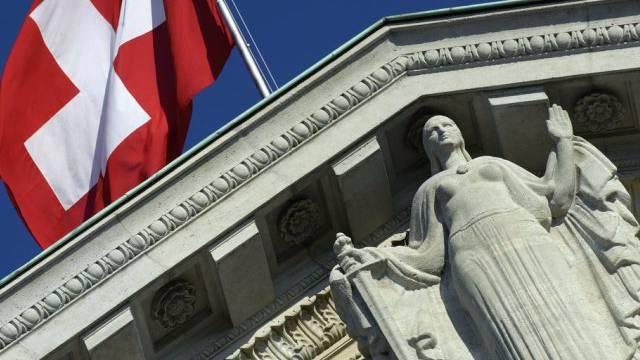 Justitia am Bundesgericht in Lausanne (Archiv)