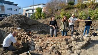 Römische Überreste an der Grenchner Jurastrasse