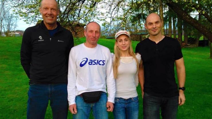 Der Vorstand v.l.n.r.: Wolfgang Waldenmaier, Mark Fehr, Viviana Andermatt, Adi Bammert