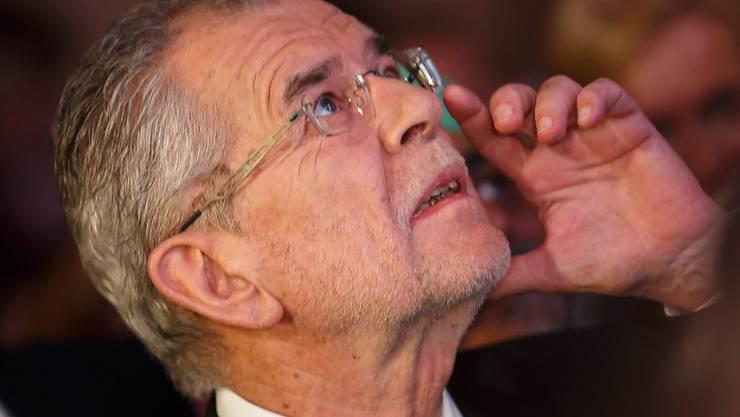 Der österreichische Präsidentschaftskandidat Alexander Van der Bellen: Kann er den Sieg Norbert Hofers von der rechtspopulistischen FPÖ noch verhindern?