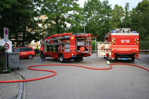 Die Feuerwehr Oftringen stand mit einem Grossaufgebot im Einsatz