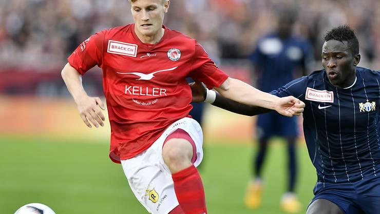 Der Winterthurer Tobias Schättin wechselt Leihweise zum FC Zürich