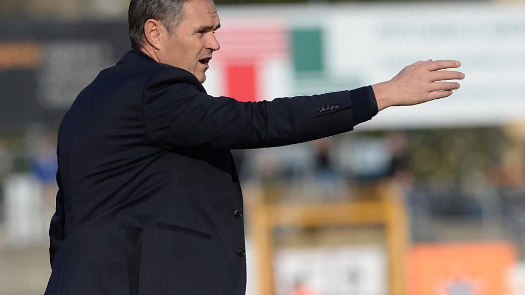 GC und Coach Pierluigi Tami beginnen die Europacup-Saison entweder gegen einen isländischen oder gegen einen nordirischen Klub