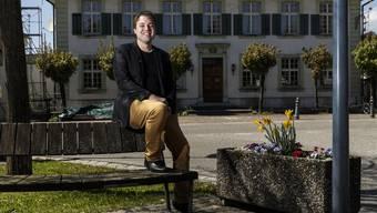 Simon Wiedmer kandidiert als Gemeindepräsident.