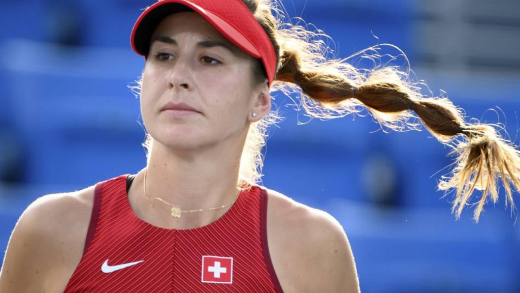 In den Achtelfinals trifft Bencic auf die Tschechin Barbora Krejcikova, die French-Open-Siegerin