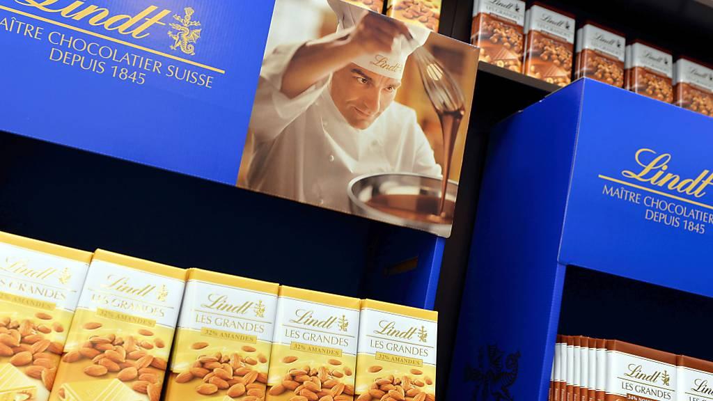 Schokolade von Lindt&Sprüngli wieder sehr gefragt (Archivbild)
