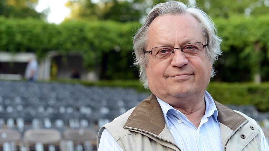 ARCHIV - Siegfried Matthus ist am 27.08.2021 nach längerer Krankheit im Alter von 87 in Stolzenhagen in Brandenburg gestorben. Foto: Jens Kalaene/dpa-Zentralbild/dpa