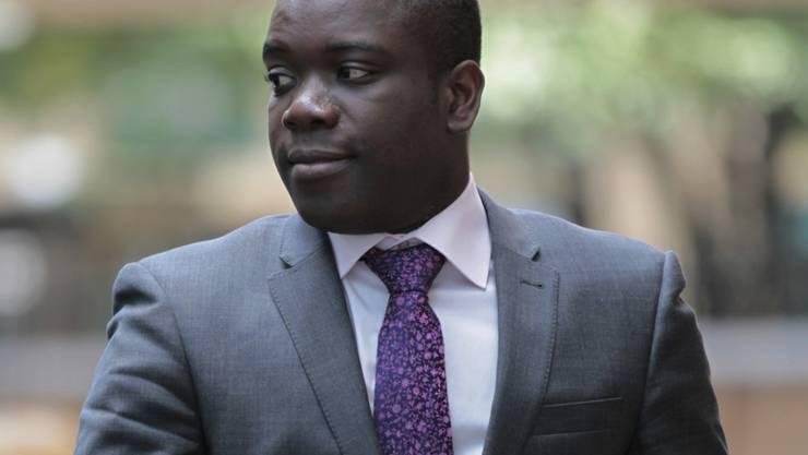 """""""Ich wollte die Geschichte erzählen als eine Lektion für andere und um andere vor den Fehlern zu schützen, die wir gemacht haben"""", sagt Ex-Händler Kweku Adoboli. (Archiv)"""