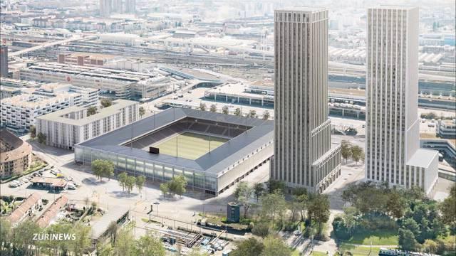 Neues Fussballstadion: SP will nun Türme streichen