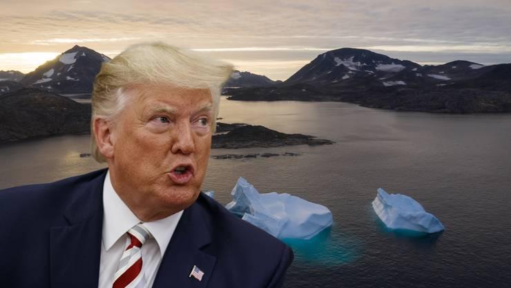 Der US-Präsident hatte am Sonntag ein Interesse am Kauf der Insel bestätigt, die als autonomes Gebiet zu Dänemark gehört.