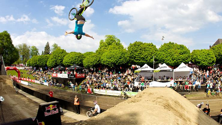 Dirtjump an den Bike Days (Archivbild)