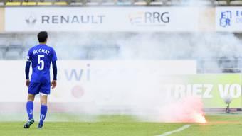 Lausanne-Captain Alain Rochat nervt sich über die Chaoten und ist enttäuscht über den Abstieg seines Teams.