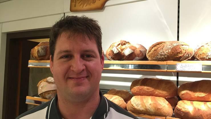 Bäcker Stefan Röösli hat die Urnenabstimmung erzwungen. URS HELBLING