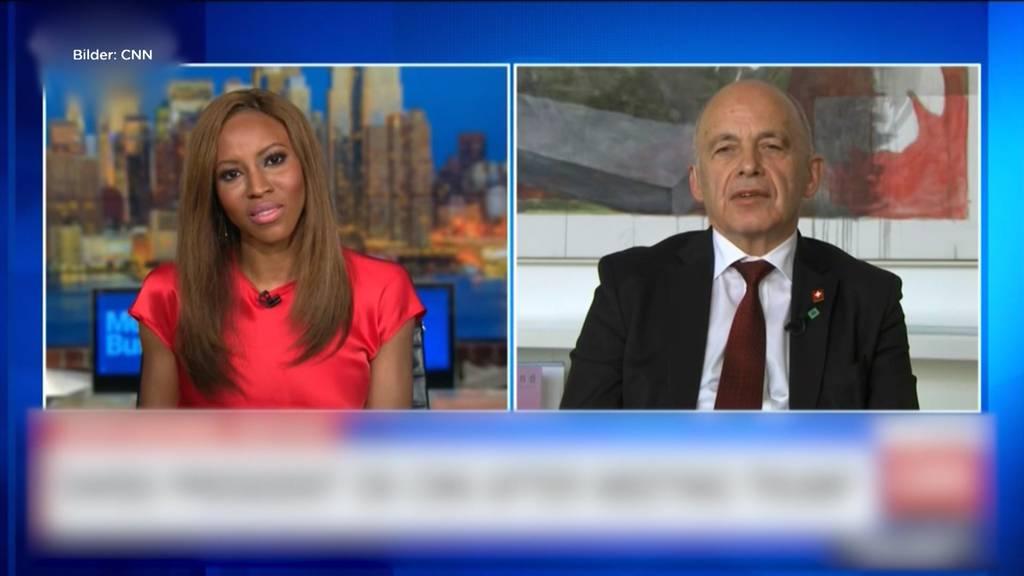 Peinliches Interview von Ueli Maurer auf CNN