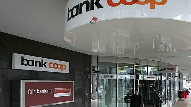 Bank Coop setzt leicht mehr um (Archiv)