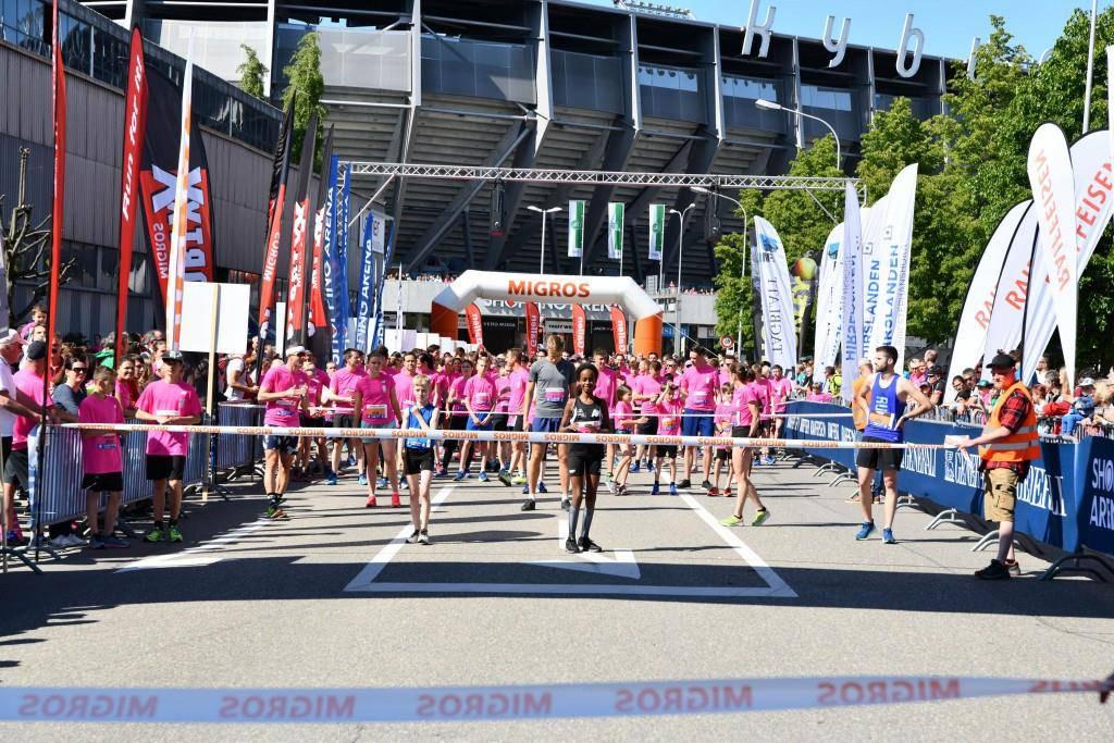 Alle Bilder vom 6km-Lauf (© FM1Today / Stefanie Rohner und Michael Kuhn)