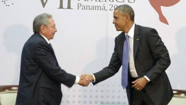 """Obama lobt """"offene"""" Atmosphäre beim historischen Treffen"""