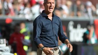 Adi Hütter gewinnt mit Frankfurt in Unterzahl auswärts gegen Marseille