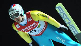Simon Ammann Dritter beim Weltcup-Springen in Klingenthal
