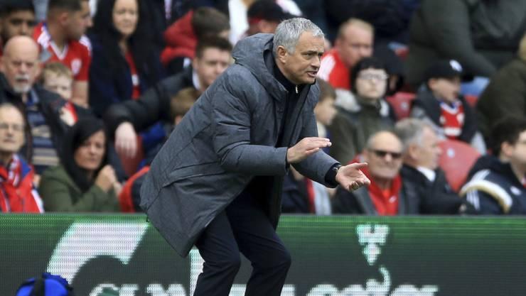 Jose Mourinho will seine Reservemannschaft antreten lassen.