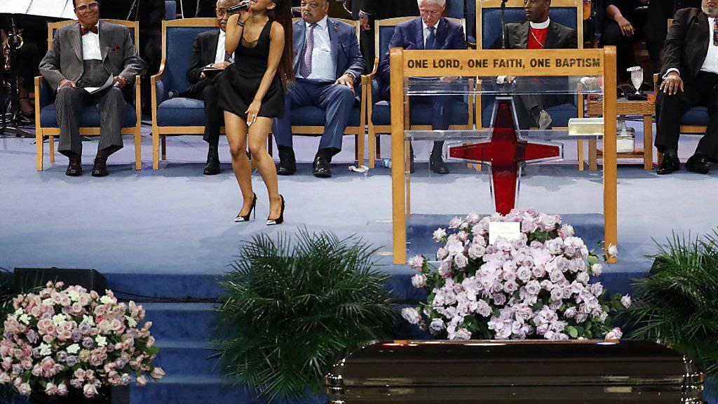 Stars und Fans trauern um Aretha Franklin