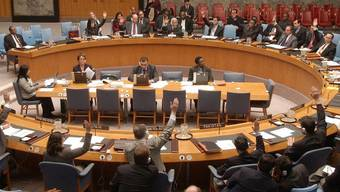 Blick in den UNO-Sicherheitsrat (Symbolbild)