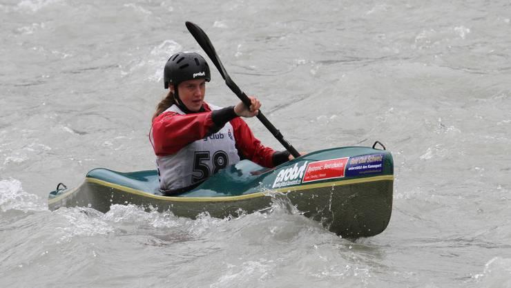 Die Solothurnerin Melanie Mathys holte den Sieg im Sprintrennen.