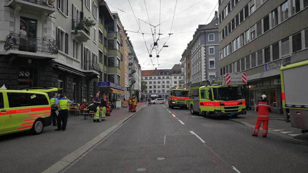 Kellerbrand an Langstrasse: Behörden geben Entwarnung