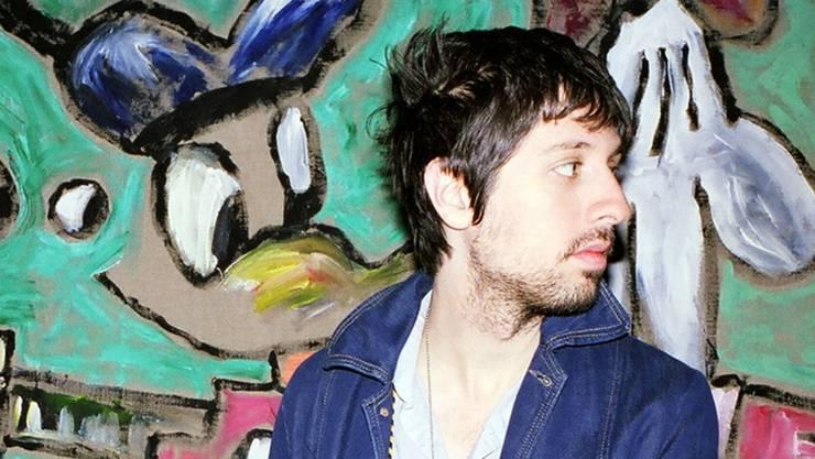 Da hat er noch einen Dreitagebart: der schlitzohrige New Yorker Singer-Songwriter Adam Green.