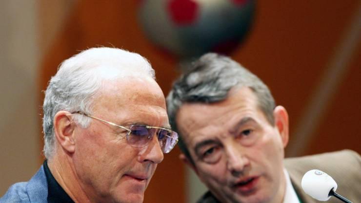 Beckenbauer und der DFB dementieren