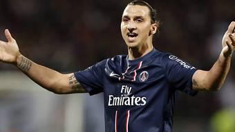 Zlatan Ibrahimovic holt mit PSG den Meistertitel.