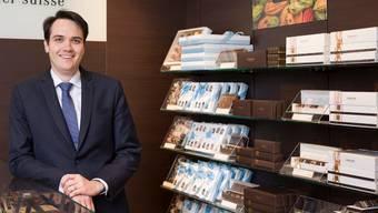 Johannes Läderach führt den gleichnamigen Schokoladehersteller aus dem Kanton Glarus.