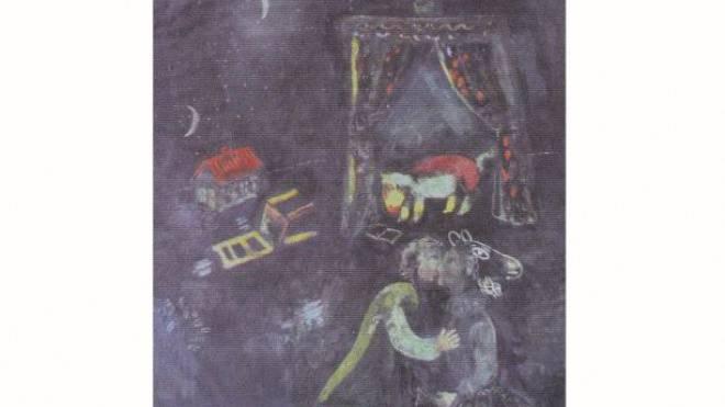 Chagalls «Allegorische Szene». Foto: KEYSTONE