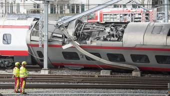 Zugunglück Bahnhof Luzern (22. März 2017)