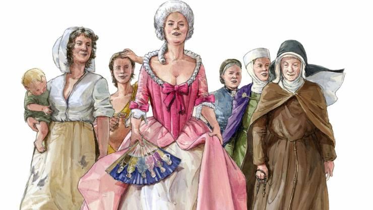 Frauenjahr im Museum Aargau – Hochzeit im Legionärspfad