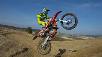 Maurice Chanton aus Luterbach ist Junioren-Schweizer-Meister im Motocross