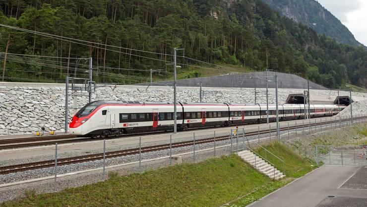 Der Giruno (im Bild) liegt bei den Zuverlässigkeitswerten derzeit hinter dem neuen Doppelstock-Zug von Bombardier.