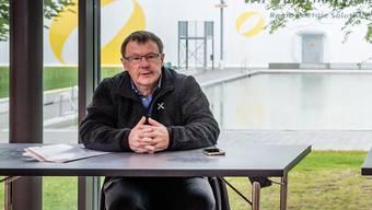 Jürgen Hofer hat Mühe mit der Gemeinde Zuchwil. (Archiv)