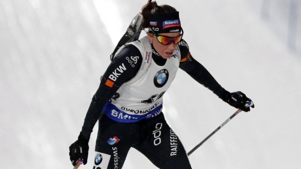 In Finnland knapp ausserhalb der Top Ten: Selina Gasparin